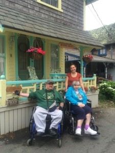 Peter and Nany J. visit Happy Daze, the original home of Camp Jabberwocky.