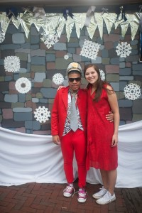 Conrad absolutely rocked his first prom at Jabberwocky. Great outfit, great date, great dancing. Well done, sir.