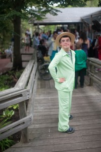 Matt had a GREAT outfit for his first Jabberwocky Prom.