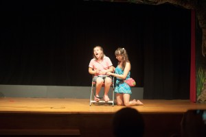 Marie performed Brown Bear using her words AND her LAMP device!