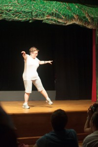 Sue danced to I will survive, and it was AMAZING.