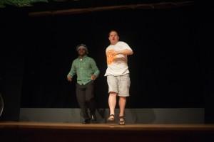 Ryno and Carlos danced, too!